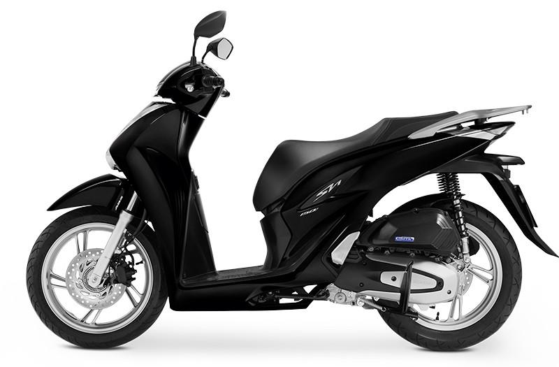 Xe Sh 2020 màu đen được thiết kế sang trọng