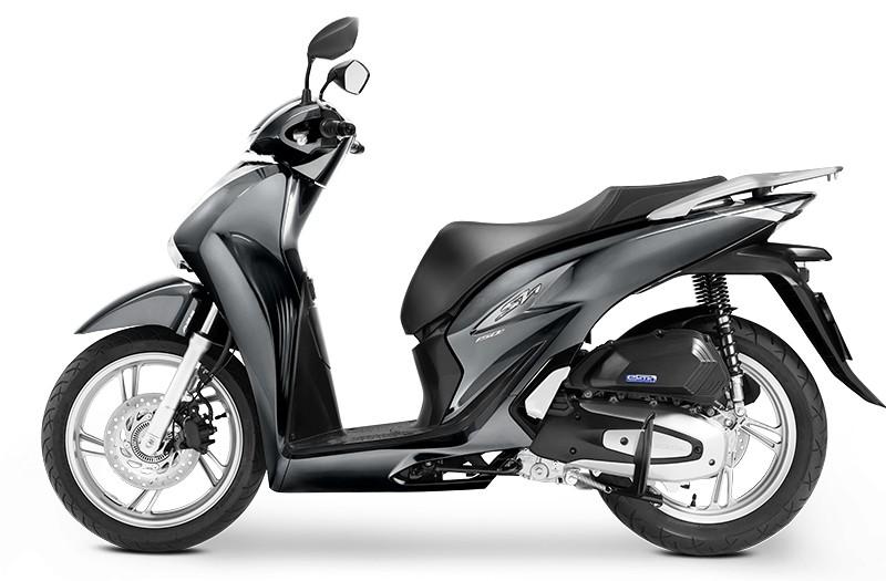 Honda Sh Việt màu xám lựa chọn tốt cho các Qúy Ông