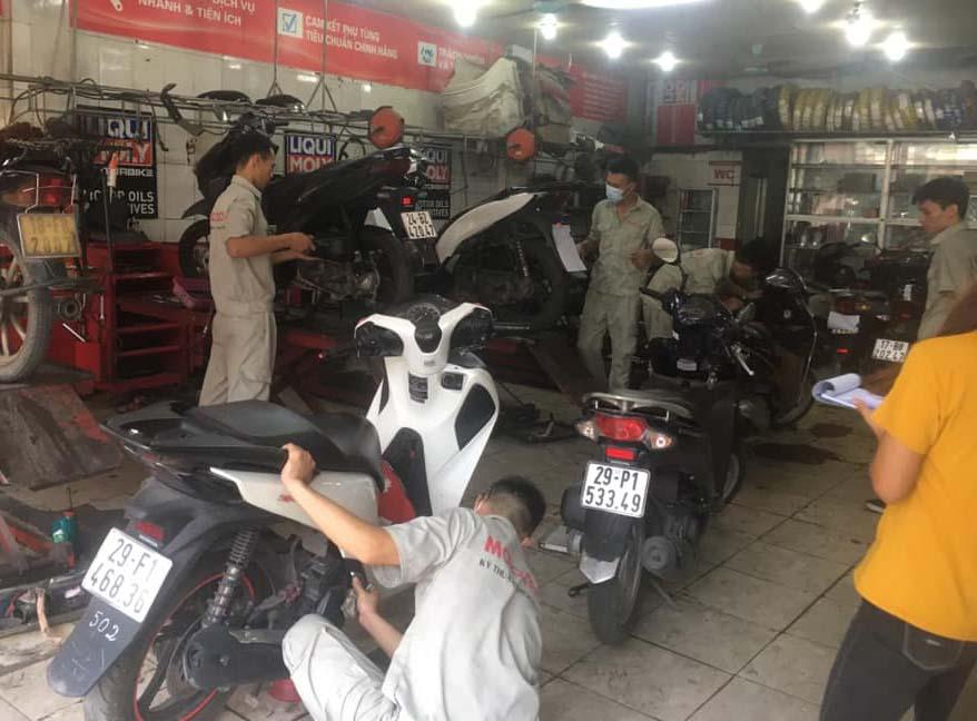 Sửa xe Sh tại Mototech