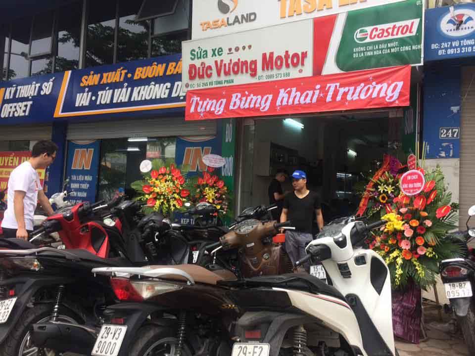 Khai trường Đức Vương Motor tại Vũ Tông Phan