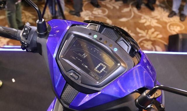 Mặt đồng hồ điện tử Full LCD trên Exciter 150