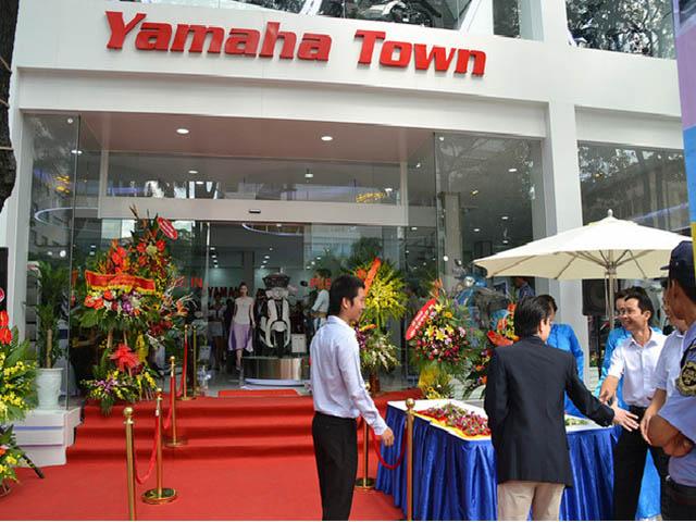 Hình ảnh đại lý Yamaha Town 62 Nguyễn Chí Thanh