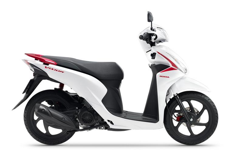Xe Vision 2020 phiên bản đặc biệt kiểu dáng và màu sắc tuyệt vời