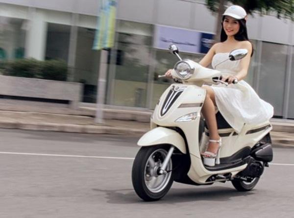 Yamaha Nozza thiết kế ttheo phong cách dịu dàng, nữ tính