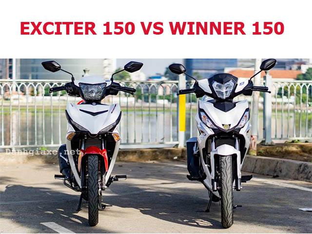 So sánh xe Exciter 150 và Winner 150, nên mua dòng côn tay nào?