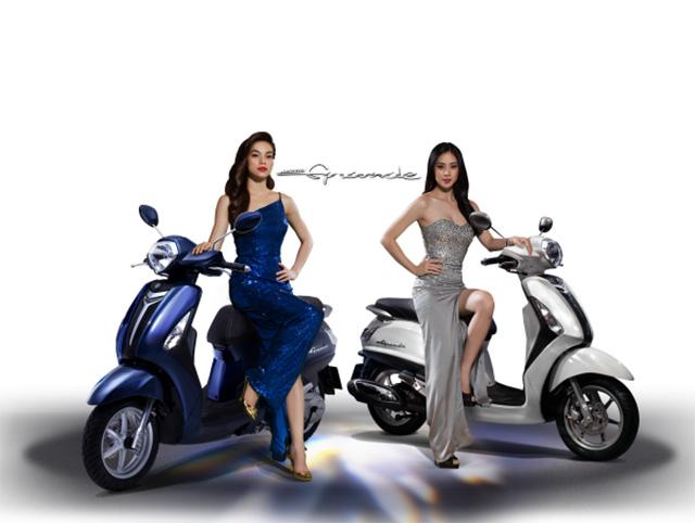 Yamaha Grande thiết kế cổ điển theo phong cách Châu Âu
