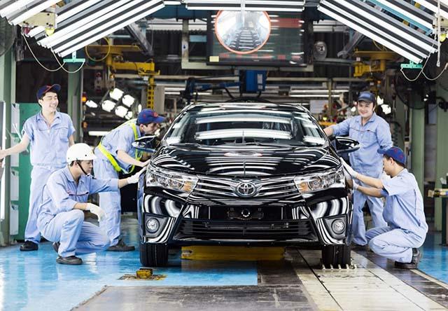 Thuế nhập khẩu ô tô hiện nay đã có xu hướng giảm hơn