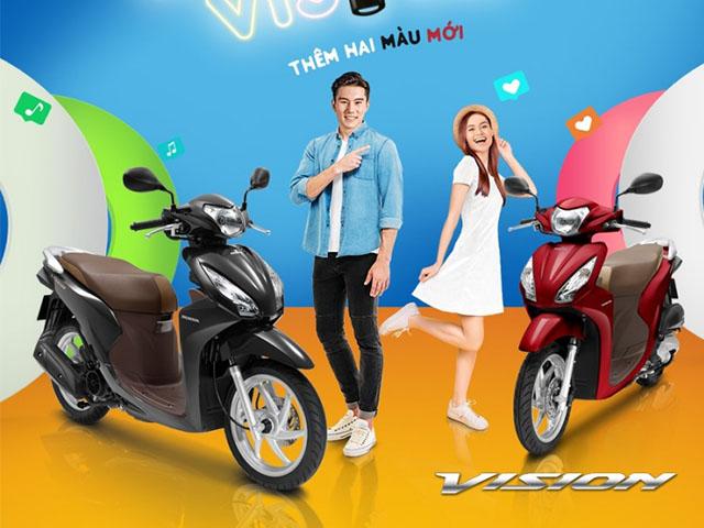 Xe Vision màu nào đẹp nhất? Tổng hợp các màu xe Vision