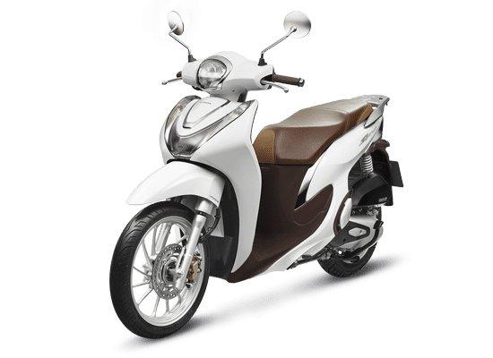 Phiên bản thời trang ABS màu trắng SH mode 2020 có giá đề xuất khoảng 58 triệu