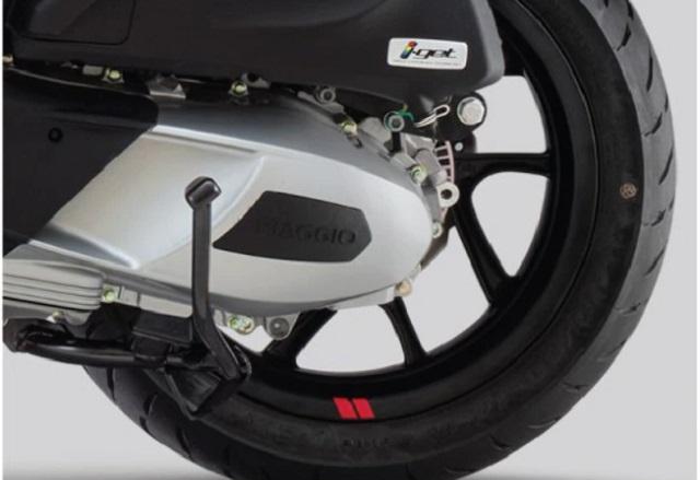 Piaggio Medley được trang bị hệ thống chống bó cứng phanh ABS hai kênh tiêu chuẩn