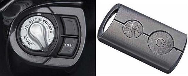 Thiết kế thông minh ổ khóa của Yamaha