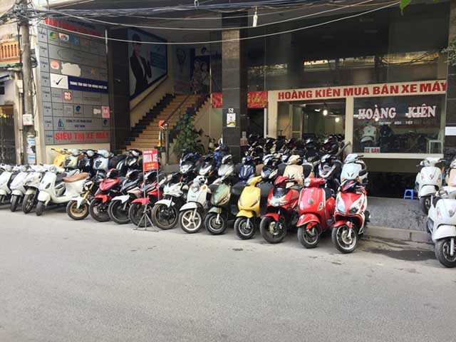 Tìm mua xe máy cũ tại Hà Nội nhiều sự lựa chọn