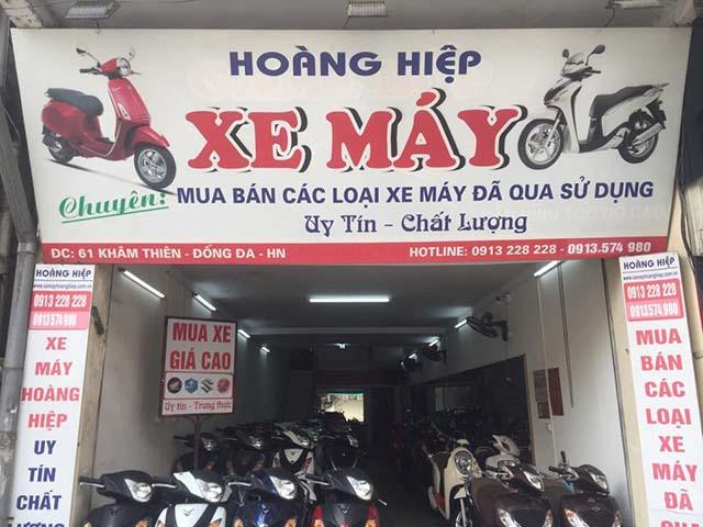 Hoàng Hiệp - địa chỉ mua xe máy cũ uy tín tại Hà Nội