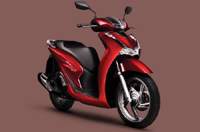 Thiết kế thân xe Honda SH125/150i