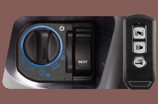 Hệ thống khóa thông minh Honda SMART Key của SH125/150i