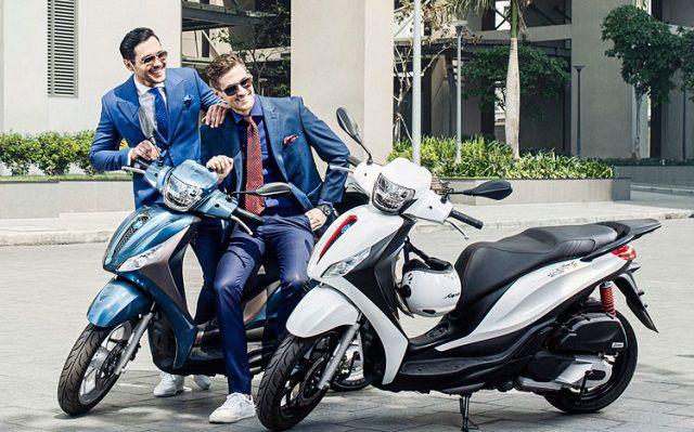 Piaggio Medley pha trộn giữa tính tiện dụng và vẻ đẹp Ý giúp bạn vận hành thư thái