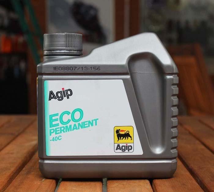 Nước làm mát Agip Eco Permanent cũng là sự lựa chọn tốt