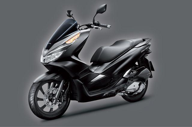 Hình ảnh thiết kế tổng thể của xe Honda PCX phiên bản mới nhất