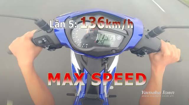 Lý do khiến bạn không test được tốc độ Max Exciter lên 136km/h