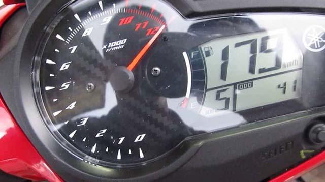 Tốc độ Max khi xe Exciter 150 mở tua IC