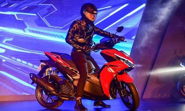 Thiết kế dáng xe Yamaha NVX 155