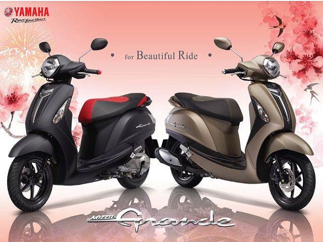 List các màu xe Yamaha Nozza Grande màu nào đẹp nhất