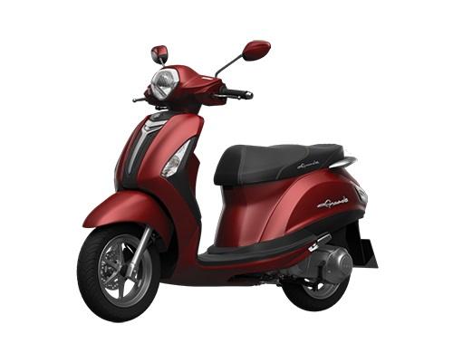 Yamaha đỏ bản cao cấp cũng được rất nhiều người lựa chọn