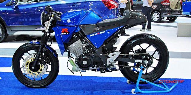 Suzuki GSX-R150 café racer xe moto co dien