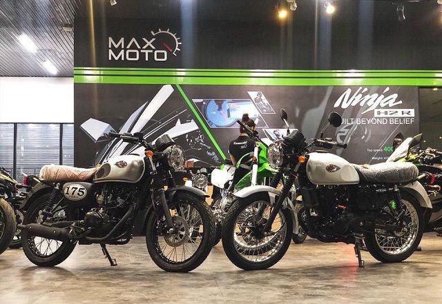 Xe côn tay classic giá rẻ Kawasaki W175