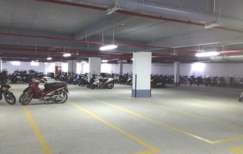 kích thước bãi đậu xe máy Theo quy định, chiều dài mỗi chỗ để xe máy là 5m, chiều rộng là 2,3 m