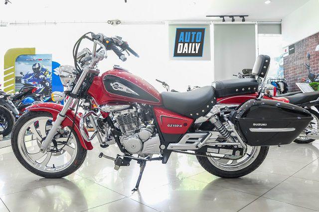 Suzuki GZ150-A thuộc top các dòng moto classic giá rẻ