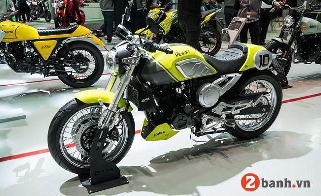 Xe GPX Legend Gentleman với thiết kế màu vàng bắt mắt