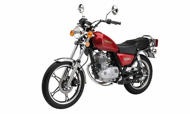 Thiết kế Suzuki GN125