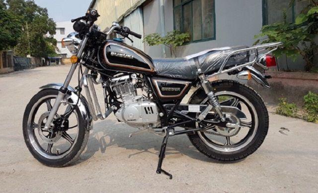 Suzuki GN125 - xe moto classic giá rẻ