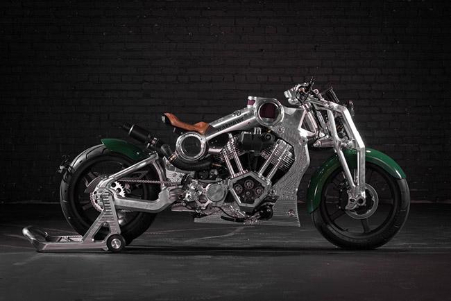 mô tô khủng nhất Curtiss Motorcycles Warhawk