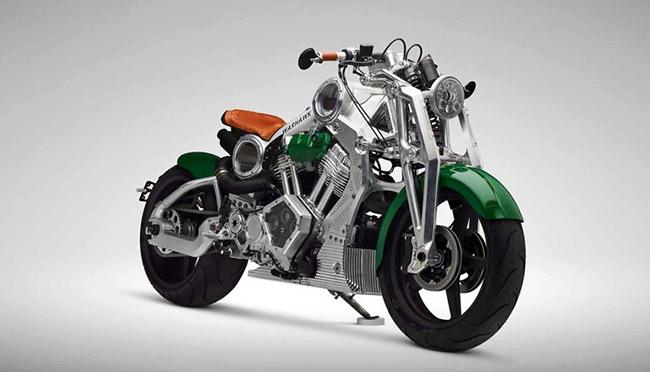 Curtiss Motorcycles Warhawk siêu xe mô tô đẹp nhất thế giới