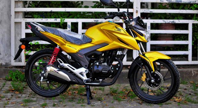 Honda CBF125R 2020 thiết kế gọn nhẹ