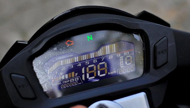 Honda CBF125R cụm đồng hồ LCD