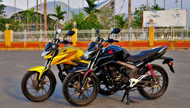 Ốp cánh gió thể thao phong cách Honda CBF125R 2020