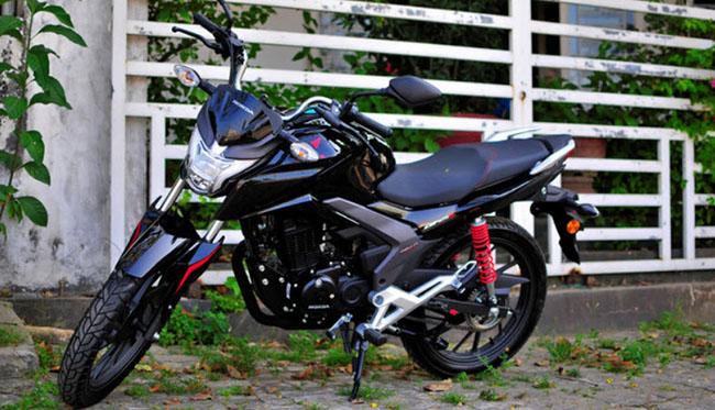 Thiết kế ngoại hình cá tính của Honda CBF125R