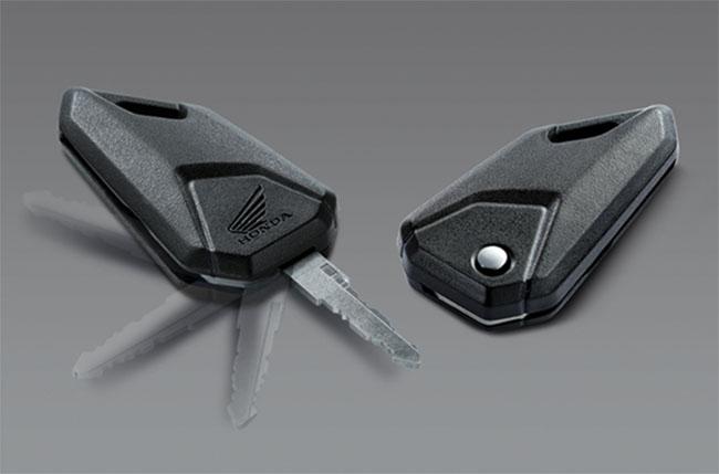 Chìa khóa gập tiện lợi của Honda MSX125