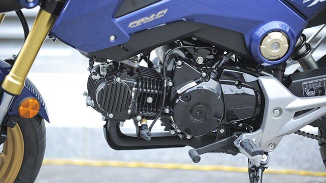 Thiết kế động cơ mạnh mẽ Honda MSX 125