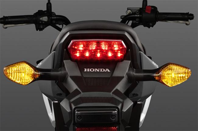 Thiết kế đèn sau khác biệt Honda MSX 125