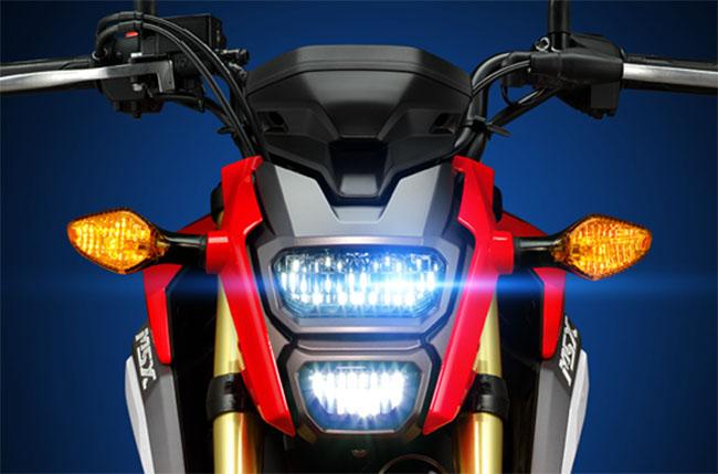 Honda MSX 125 thiết kế đèn LED phía trước độc đáo