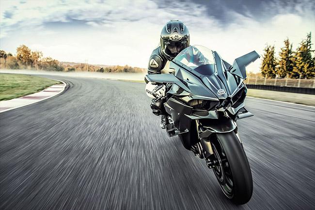 mô tô đẹp trên thế giới Kawasaki Ninja H2R