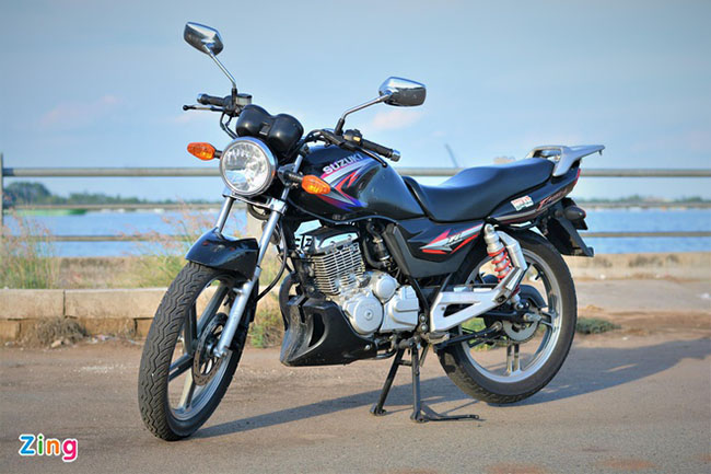 Suzuki EN150A mang phong cách thể thao