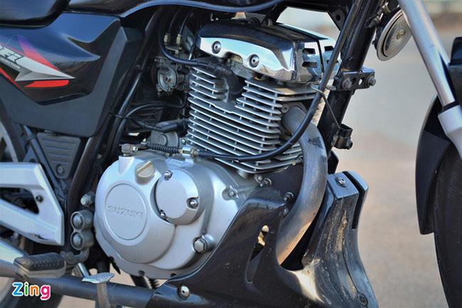 Thiết kế động cơ vượt trội Suzuki EN150A