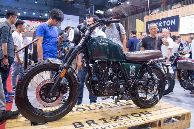 Brixton BX125 moto cho người cao 1m60