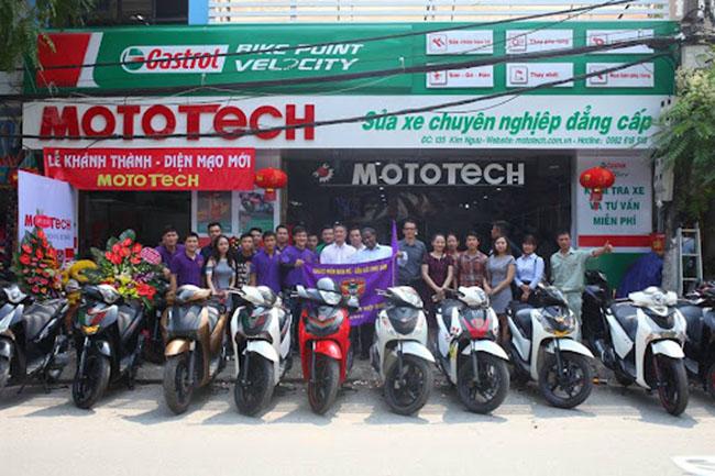 đơn vị cứu hộ xe máy Mototech