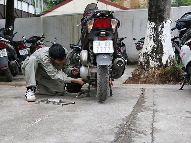 TOP 5 Đơn vị sửa xe máy tận nơi HÀ NỘI uy tín – không chặt chém